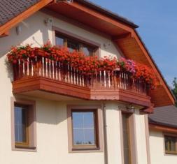 Balkony a ploty