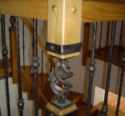 Detaily schodiště